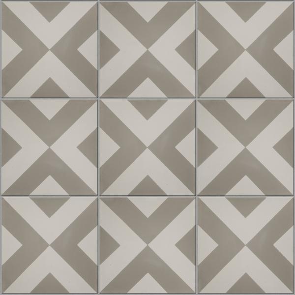 Modern Harlequin Pattern Tile   Ca\' Pietra
