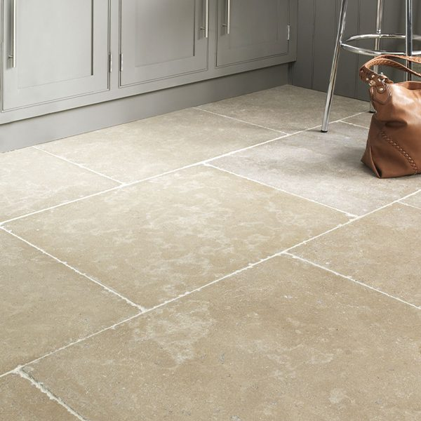 Hamlet Limestone Tumbled & Etched Finish