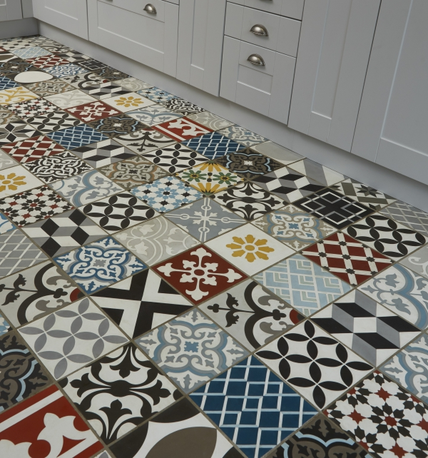 Patchwork Multicolour Tile Tiles | Ca\' Pietra