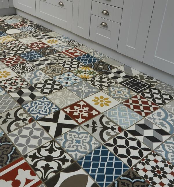 Patchwork Multicolour Tile Tiles Ca Pietra