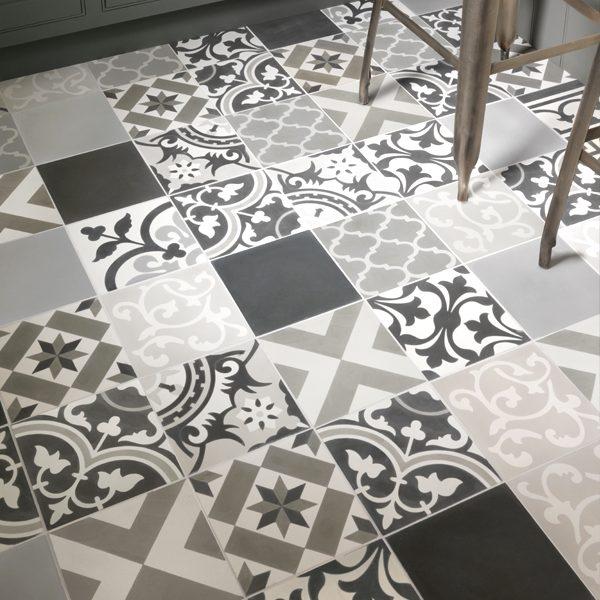 Patchwork Grey Tile Ca Pietra