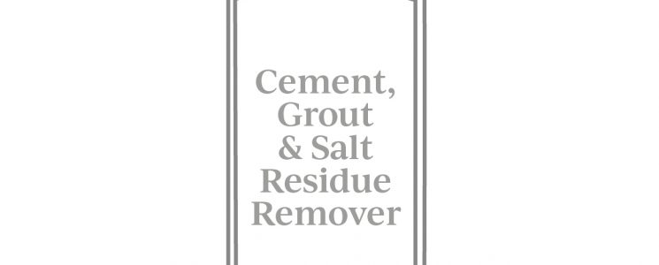SSG596 – Ancillaries Cement grout residue remover