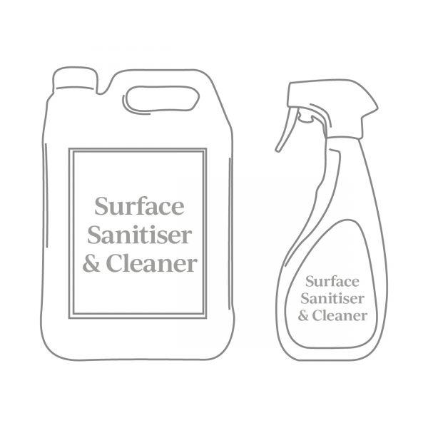 Stone Essentials Surface Sanitiser & Cleaner