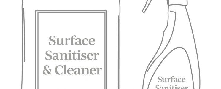 SSG596 – Ancillaries Surface Sanitiser & cleaner