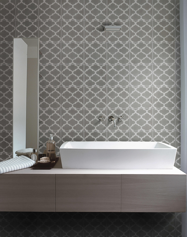 Trellis Pattern Tile T...