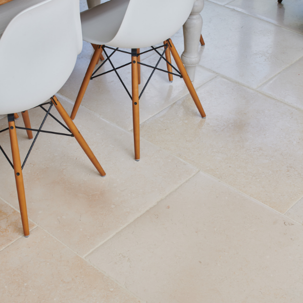 Bergamo Limestone Distressed Finish