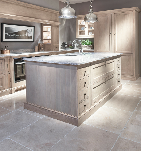 Neranjo Limestone in bespoke kitchen