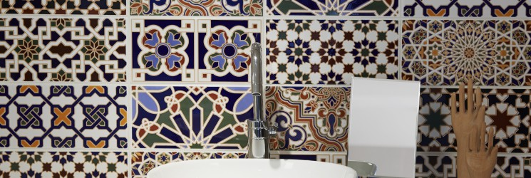 Moorish style tiles from our new Alhambra collection