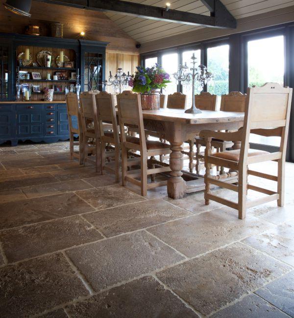 Medieval Bourgogne Limestone Weathered Finish Tiles Ca