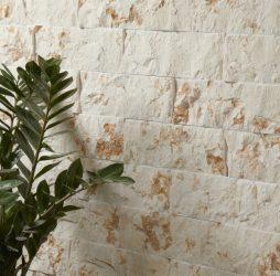 Rockface Brick Bergamo Limestone