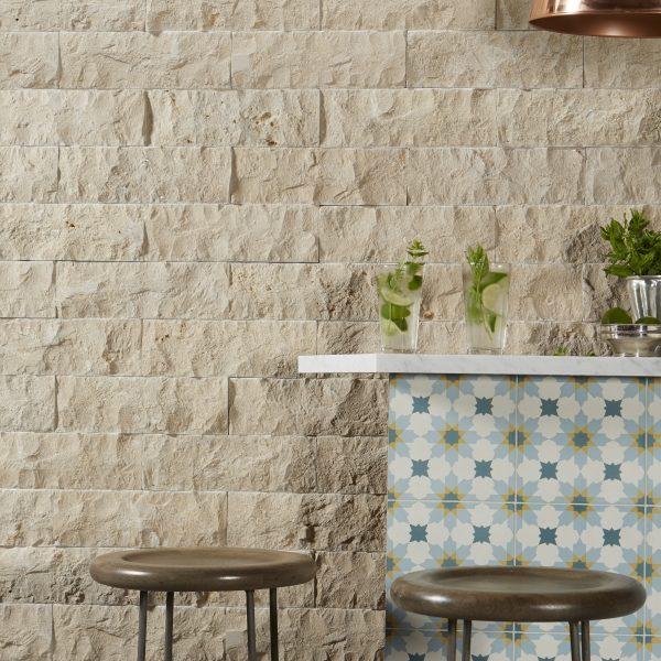 Rockface Brick Hamlet Limestone