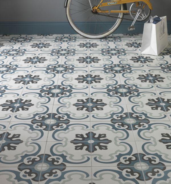 Toulon Pattern Tile Tiles Ca Pietra