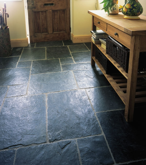 Trevail slate riven tiles ca 39 pietra for Country cottage floor tiles