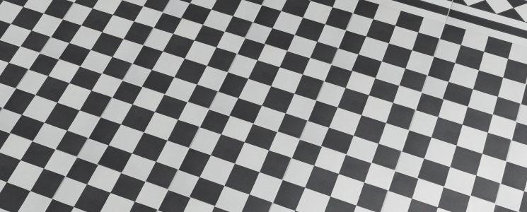 Encaustic Chequer Floor LS