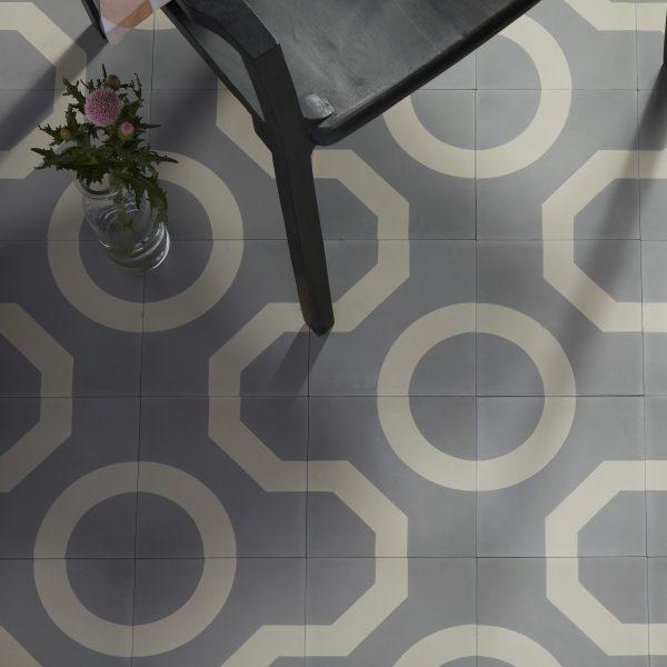 Outlet – Illusion Encaustic Soft Grey