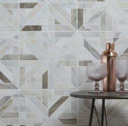 Tokyo Lattice Marble Mosaic