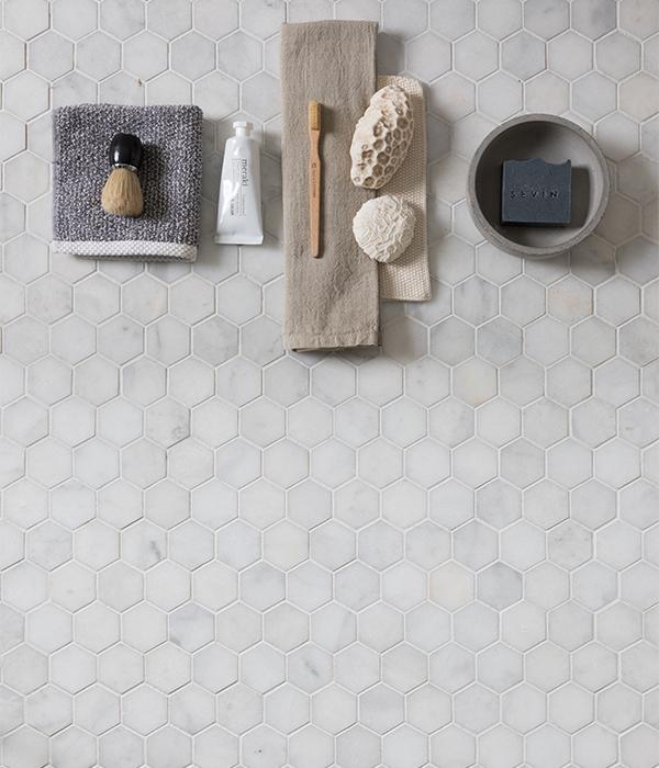 Long Island Small Hexagon Mosaic 3