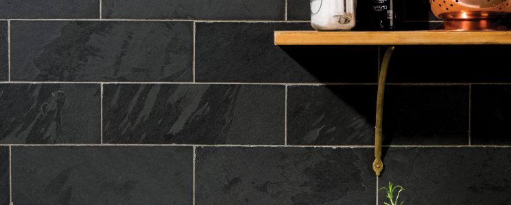 Slate Brick Tile kitchen