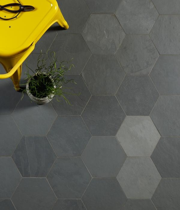 Slate Hex Tile Designs