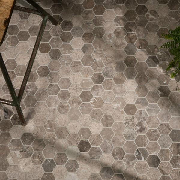 Palladio Marble Hexagon Mosaic
