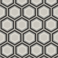 Monochrome Patisserie Hexagon Encaustic Tile