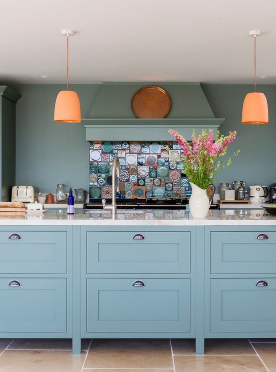 Pastel kitchen design inspiration