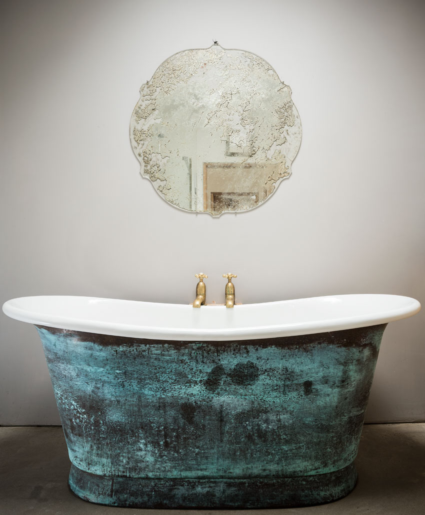 William Holland handcrafted bath