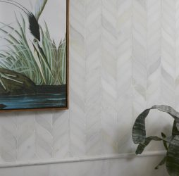 Zen Leaf Marble Mosaic