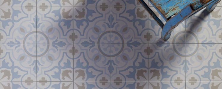 Parisian Cafe Porcelain Tile Collection