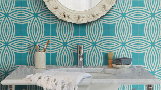 Wired Marine Pattern Tile