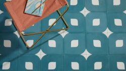 Eye Pattern Encaustic Tile