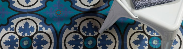 Decorating with Encaustic Cement Tiles