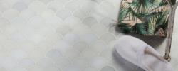 Zen Garden marble mosaics