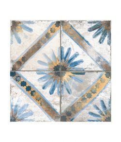 Spitalfields Rabat Blue Ceramic