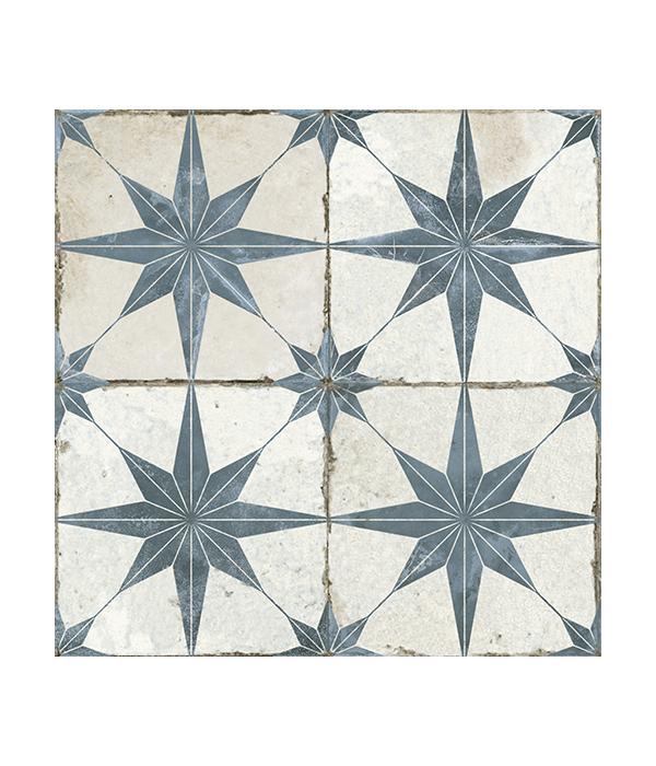 600x700px_Retro Star – Blue