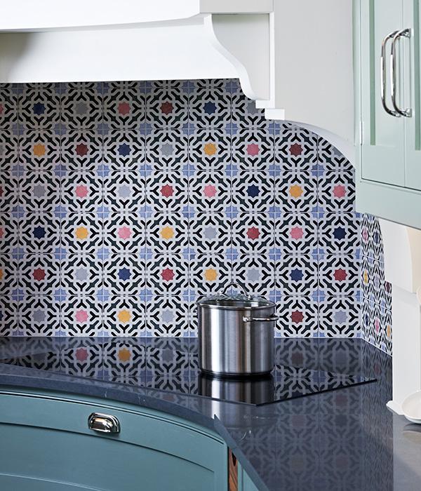 Bazaar Pattern Multi Ceramic