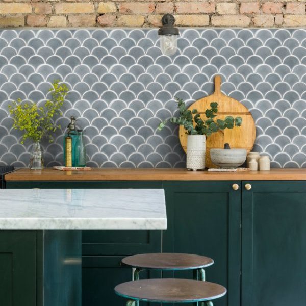 Atlantis Scallop Porcelain Grey
