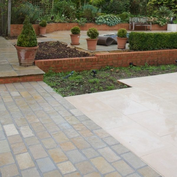 Farley Limestone Cobble Seasoned Finish