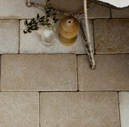 Neranjo Limestone Cobble Tumbled & Etched Finish