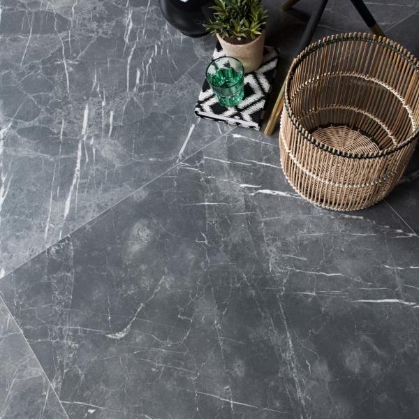 Outlet – Marbleous Porcelain Argent 37.5x75cm