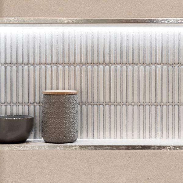 Bamboo Porcelain White