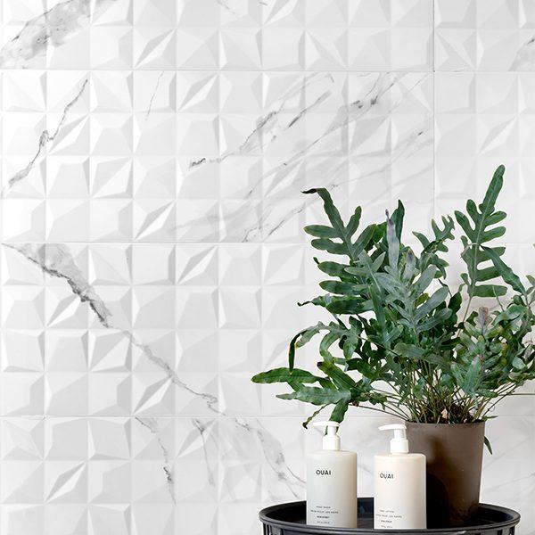 Chelsea Wall Ceramic Diamond Decor