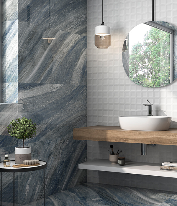 Marble Luxe Palissandro Blue