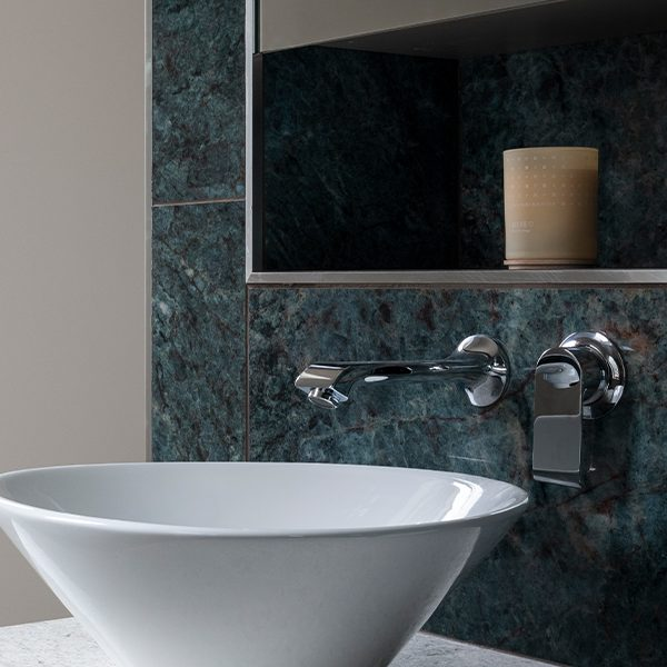 Marble Luxe Porcelain Azzurro