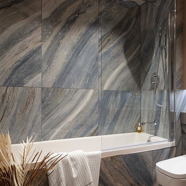 Marble Luxe Porcelain Palissandro Blue