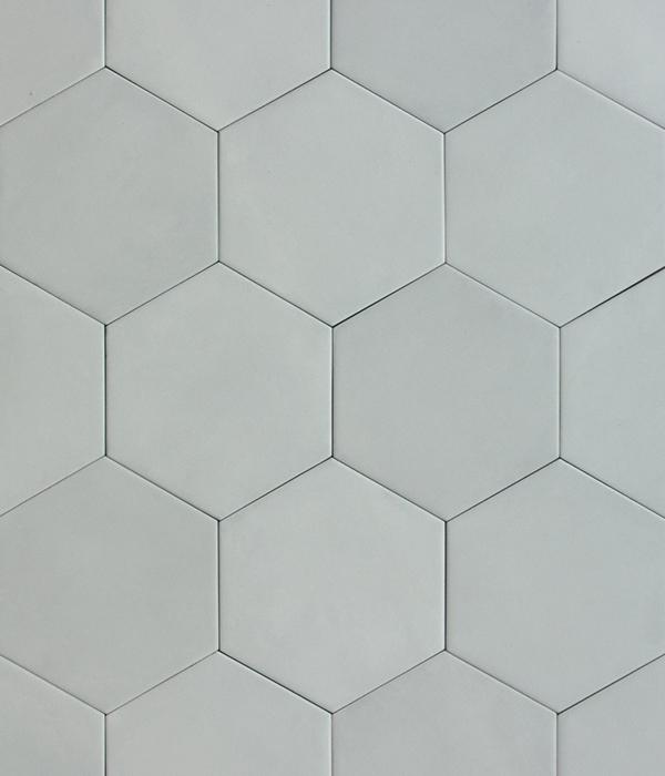 Medina Hex Latte Tile Group