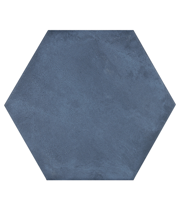 Medina Hex Navy Tile