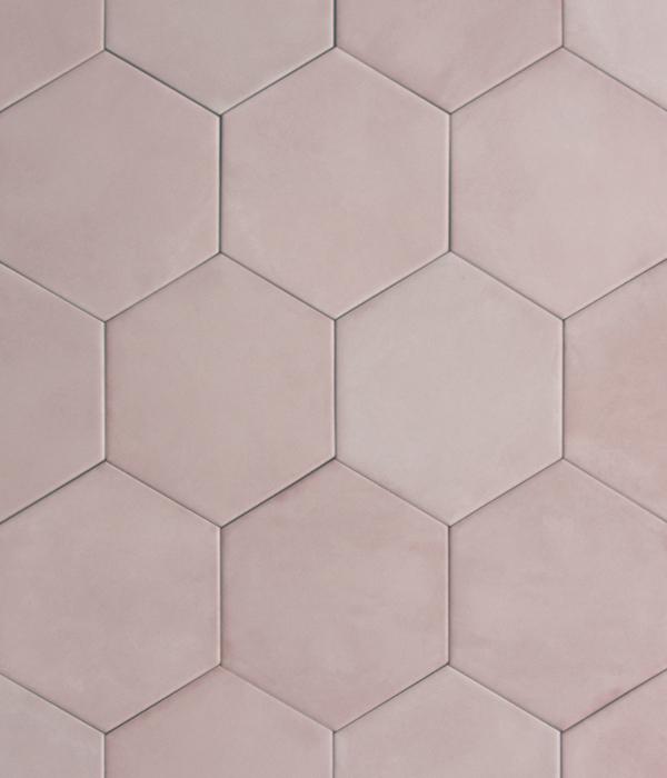 Medina Rosa Hex Tile group