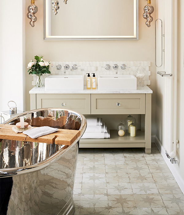 Spitalfields Ceramic Retro Star White – Ripples Bathrooms