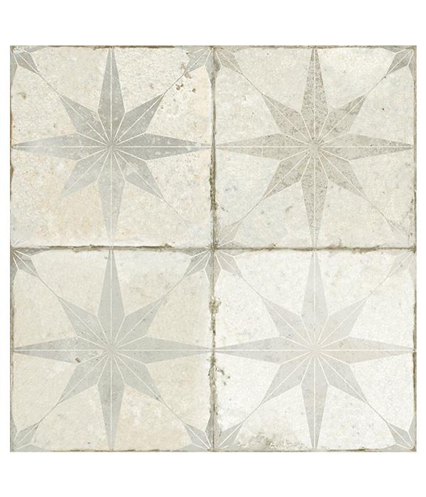 Spitalfields Ceramic Retro Star White